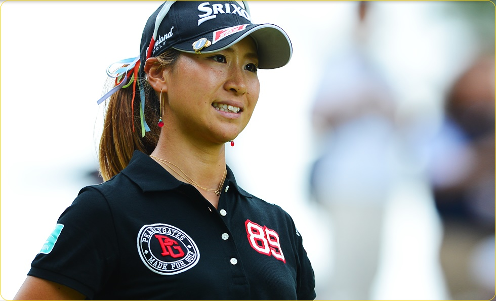 木戸愛 女子ゴルフ
