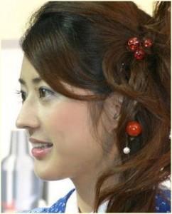小沢真珠 鼻