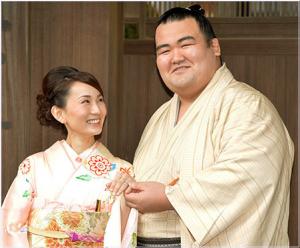 琴奨菊 かわいい嫁