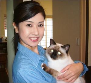 小林綾子 猫
