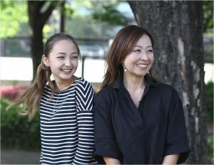 倉沢ケイナ 母