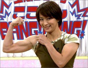 水野裕子 筋肉画像