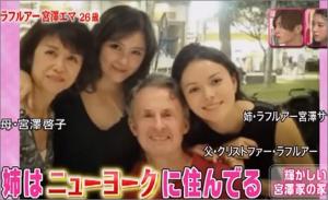 宮澤エマ 家族