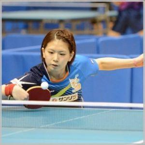 北川景子似 卓球選手