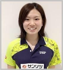 北川景子似 卓球選手 天野優