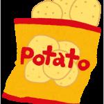 ポテトチップス 値上げ 値段
