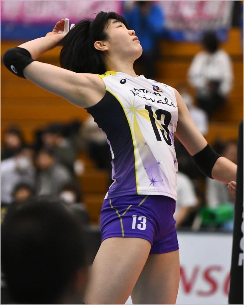 長内美和子 バレー かわいい 画像