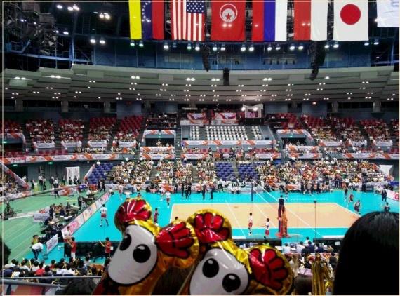 ワールドカップ2019 日本男子バレー 試合日程