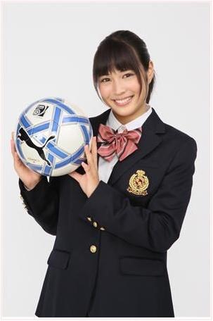 応援マネージャー 高校サッカー 歴代 女優 画像