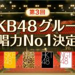AKB48グループ歌唱力No.1決定戦の歴代優勝者