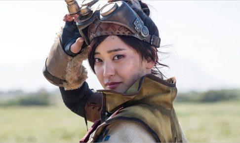 モンスターハンター映画版 受付嬢役女優 誰 画像