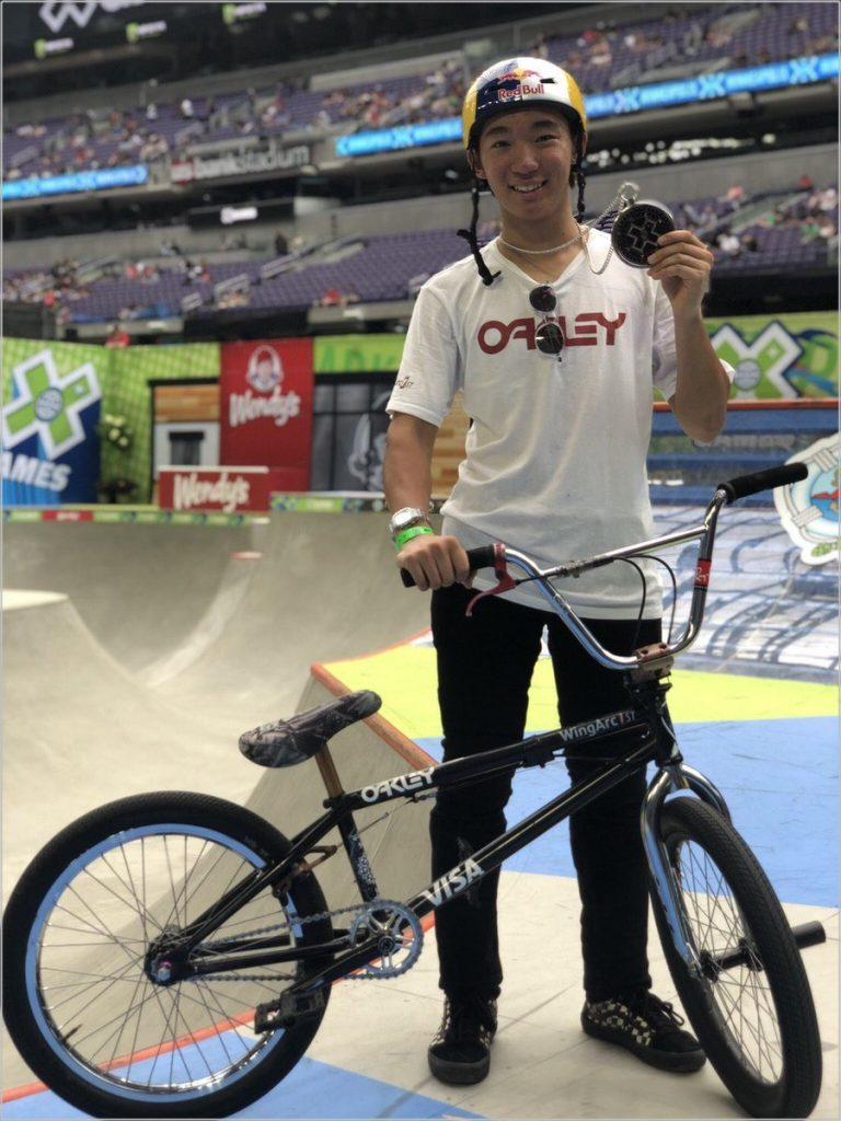 中村輪夢 BMX 名前 由来 自転車