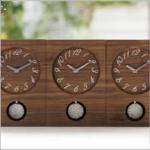 三連時計 木の暮らし 商品特徴