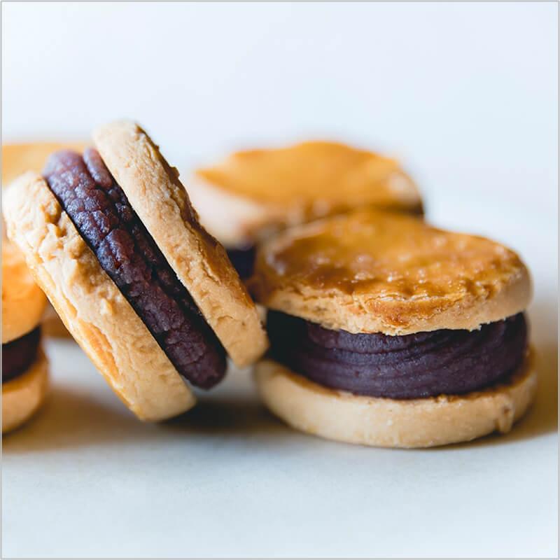 さっくりなめらか贅沢こしあんサンドクッキー 原材料